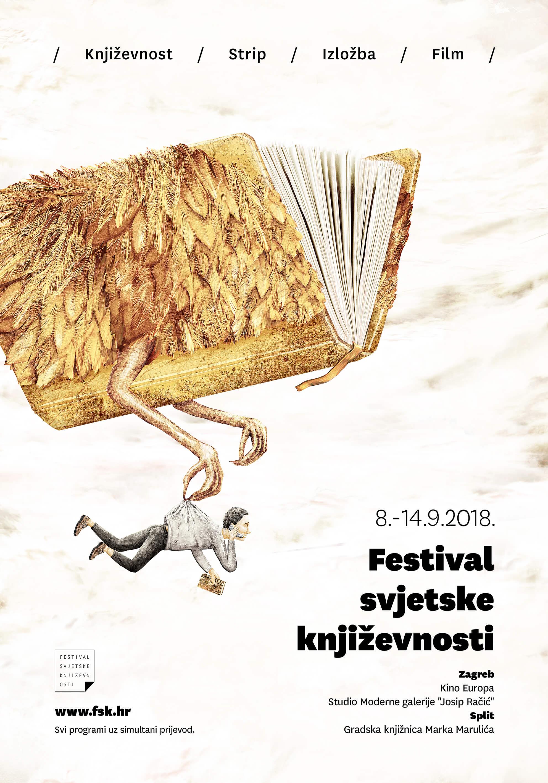 Natječaj za plakat Festivala svjetske književnosti 2020.