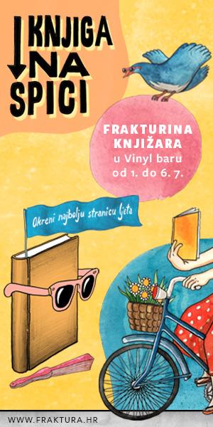 Razgovori s piscima i prevoditeljima u Frakturinoj knjižari u Vinylu