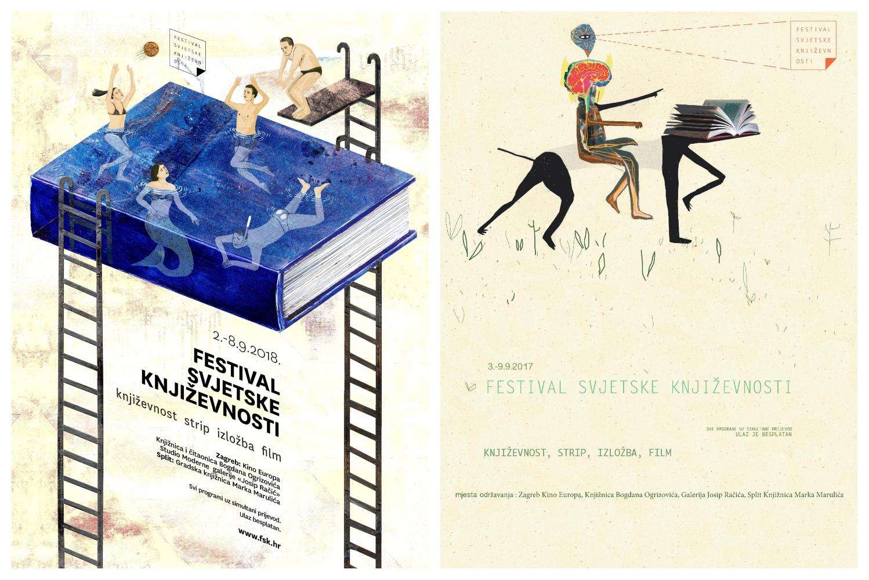 Natječaj za izradu plakata za Festival svjetske književnosti 2019.