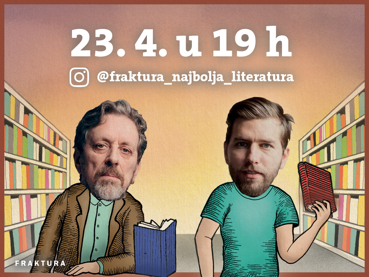 Frakturina Noć knjige 2020.: Semezdin Mehmedinović i Ante Zlatko Stolica