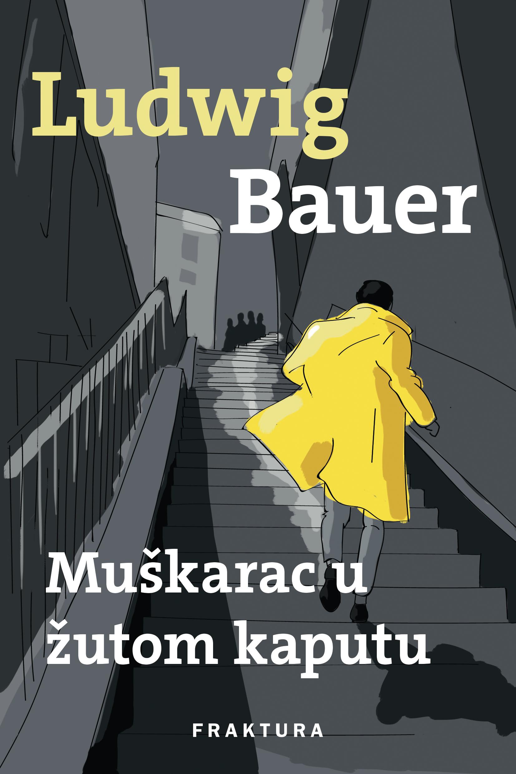 """Predstavljanje romana """"Muškarac u žutom kaputu"""" Ludwiga Bauera"""