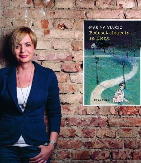 Marina Vujčić u Narodnoj knjižnici Kostrena