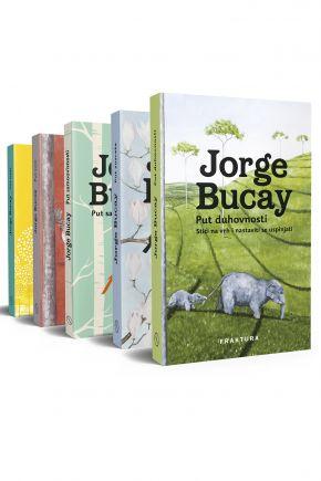 Jorge Bucay: Put samoovisnosti, Put susreta,  Put suza, Put sreće i Put duhovnosti